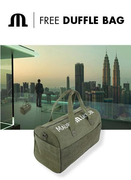 ESHOP PROMOTION – WE GOT YOUR DUFFLE BAG !