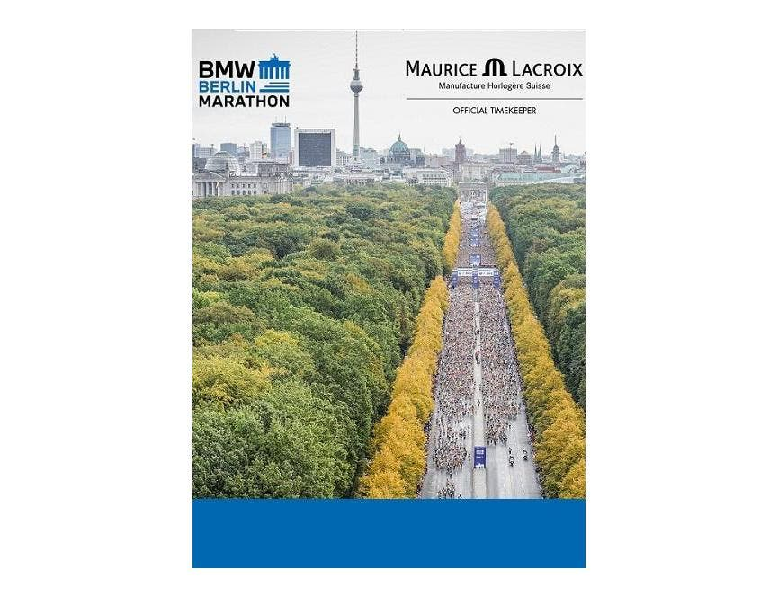 MAURICE LACROIX RUNS WITH THE BMW BERLIN-MARATHON