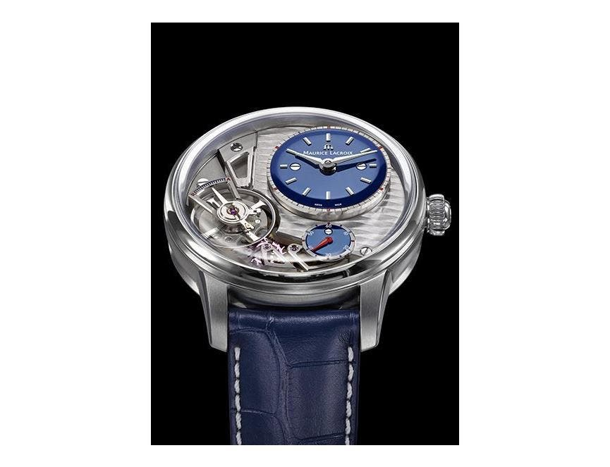 BASELWORLD PREVIEW : MASTERPIECE GRAVITY BLUE