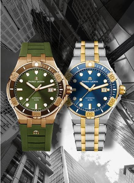 AIKON VENTURER 43 MM, THE TWO NEW FACES OF THE URBAN ADVENTURER