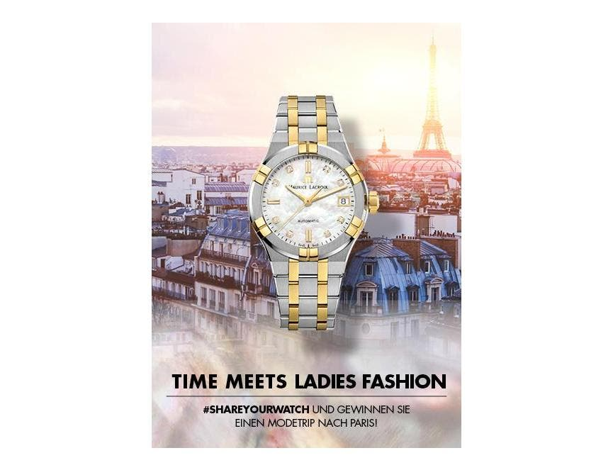 Time Meets Ladies Fashion