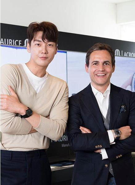 Maurice Lacroix unveils the Aikon Venturer in Korea!