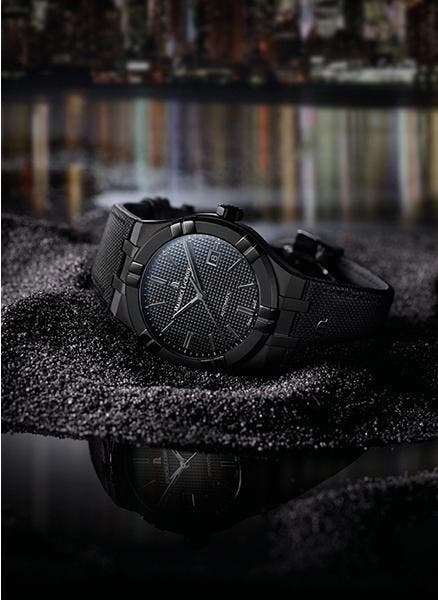 AIKON AUTOMATIC Y AIKON AUTOMATIC SKELETON: « BLACK IS BEAUTIFUL »