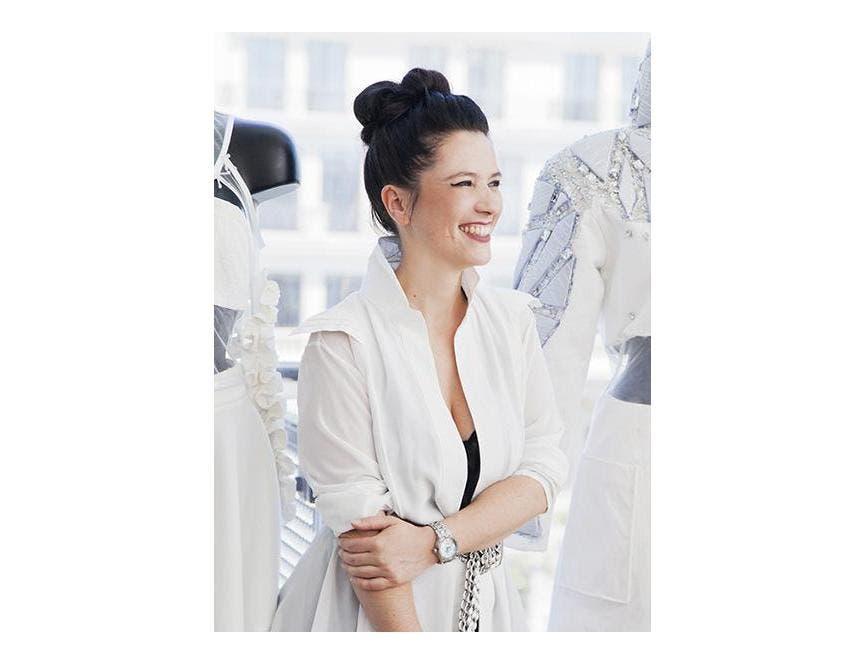 艾美表与才华横溢的时装设计师 ADELINE ZILIOX携手合作!
