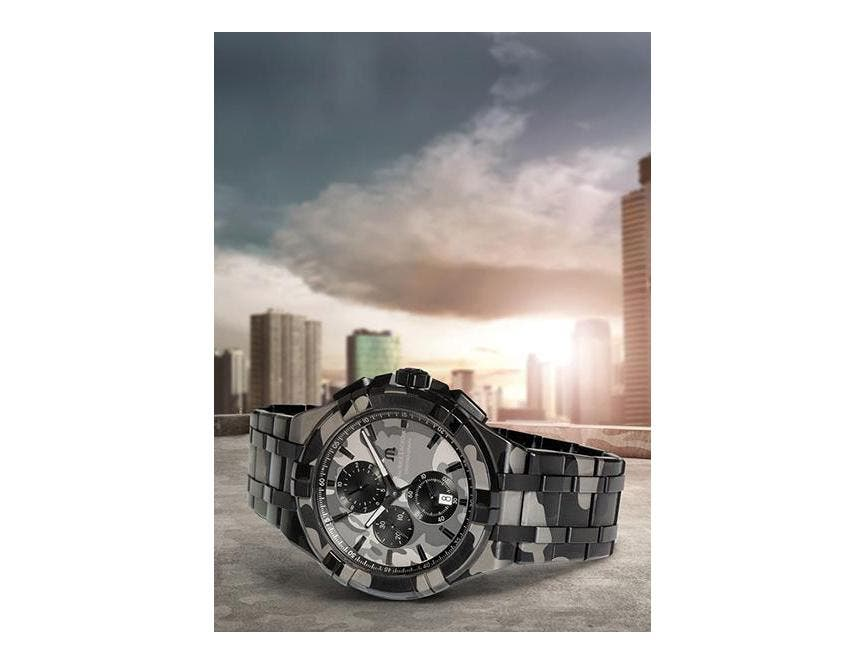 Aikon Quartz Chrono 44 mm Camouflage: An everyday ally to face off in the urban jungle!