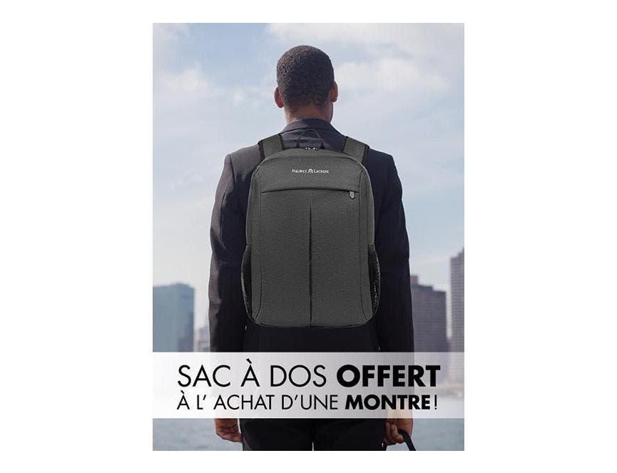 OFFRE SPECIALE - SAC A DOS MAURICE LACROIX OFFERT