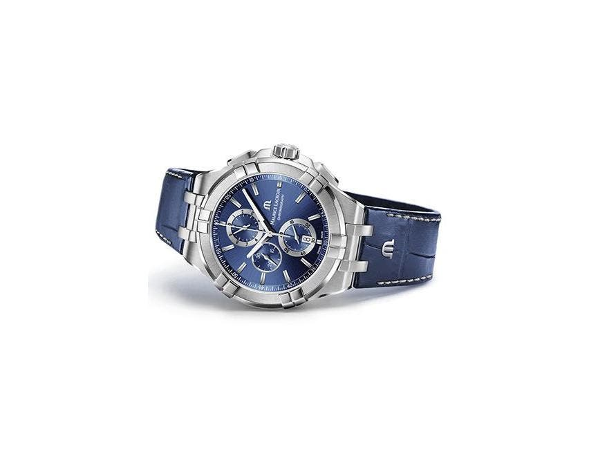 Time for an innovative trendsetter – AIKON Chronograph Blue