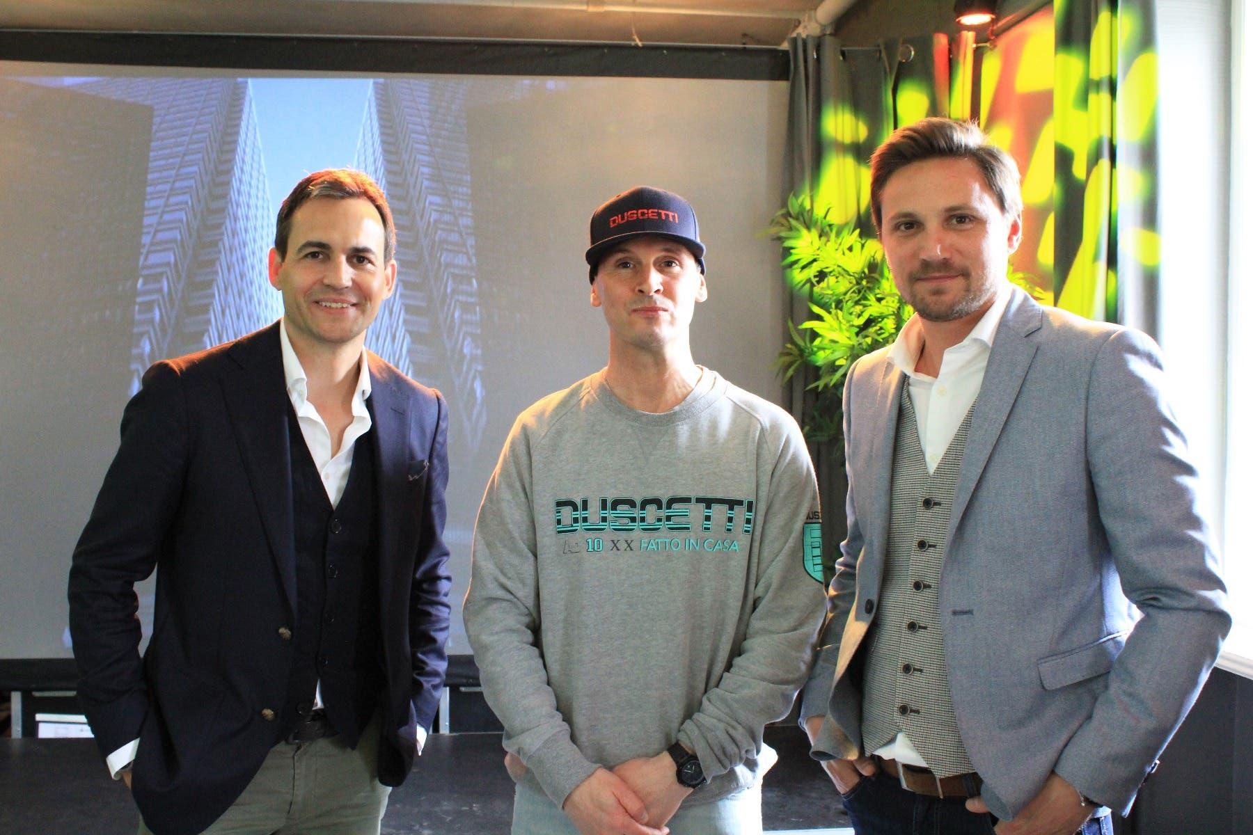 Les amis de la marque, Maurice Lacroix, Adil Dyani