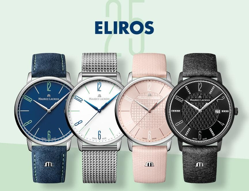 ELIROS – 25 YEARS AT THE CUTTING-EDGE OF FASHION