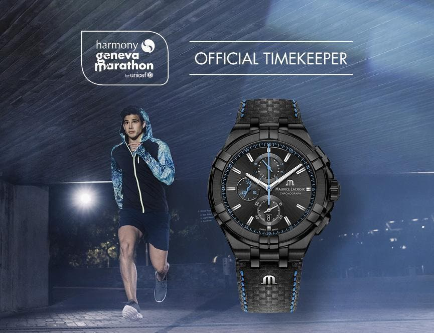 FASTER THAN EVER BEFORE WITH THE HARMONY GENÈVE MARATHON FOR UNICEF