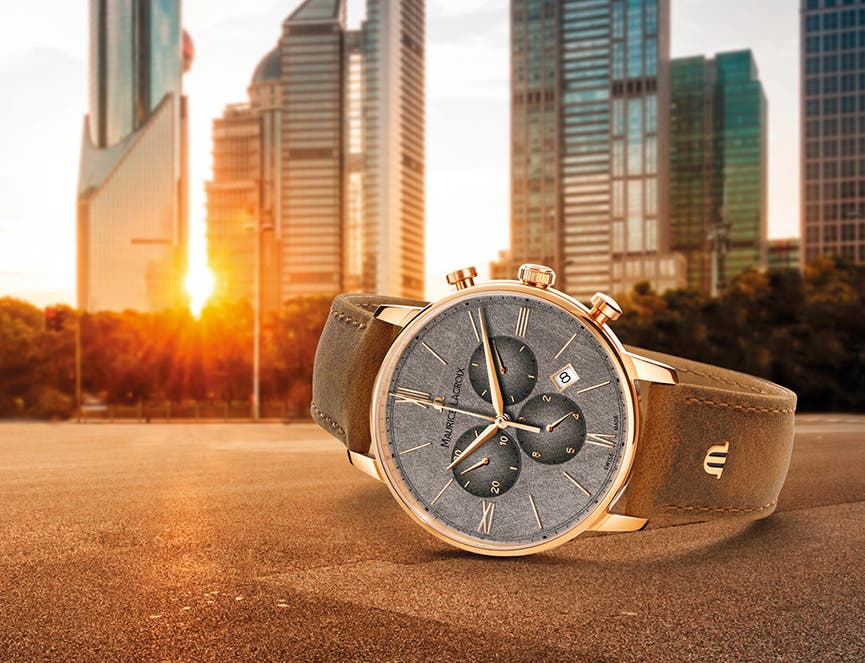 NEW 2019: ELIROS CHRONOGRAPH AND DATE