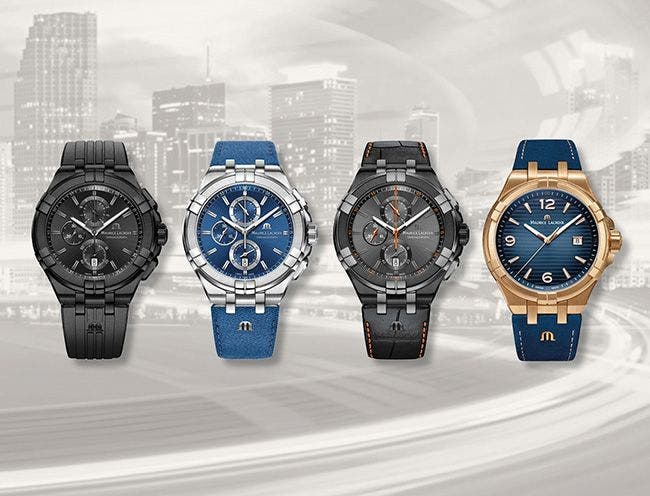 4 AIKON WATCHES AVAILABLE ONLY ONLINE !