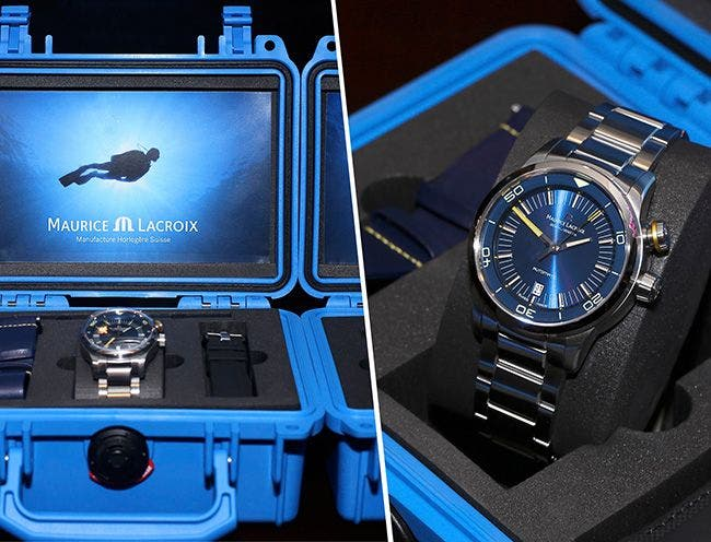 "THE PONTOS S ""BLUE DEVIL"" LIMITED EDITION TESTED BY WATCHNUTTV"