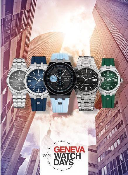 Новинки 2021 – GENEVA WATCH DAYS