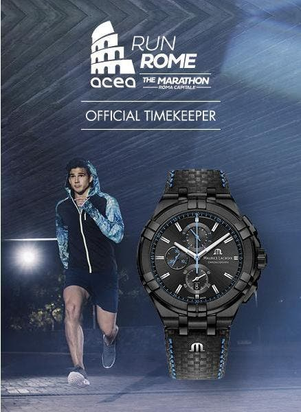艾美表成为ACEA RUN ROME THE MARATHON官方时计