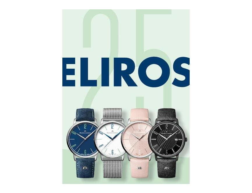 ELIROS - 25 ANS À LA POINTE DES TENDANCES