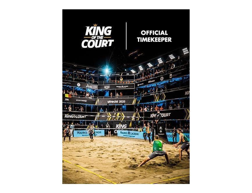 King of the Court - Official Timekeeper