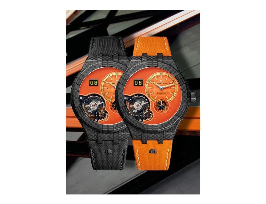 ONLY WATCH 2021 - MAURICE LACROIX AIKON MASTER GRAND DATE ONLY WATCH 2021