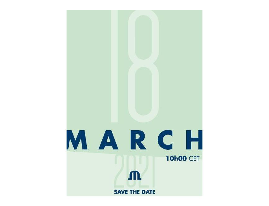 Save The Date - Digital Launch - 18.03.2021 @10h00 CET