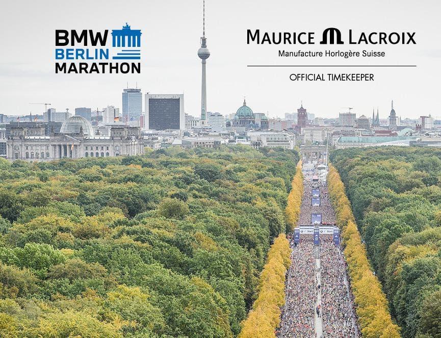 MAURICE LACROIX IST NEUER PARTNER DES BMW BERLIN-MARATHONS