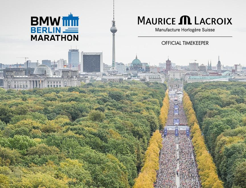 MAURICE LACROIX COLABORA CON BMW BERLIN-MARATHON