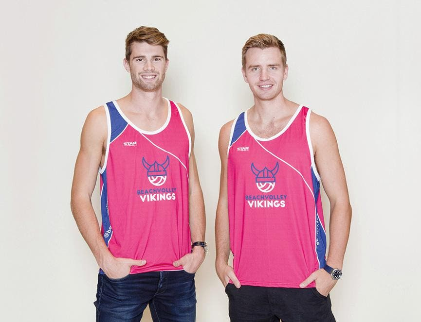 Anders Mol & Christian Sørum: an incomparable team of talented volleyball players