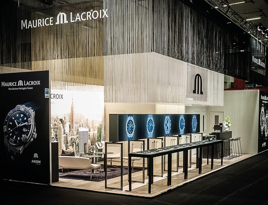 Back to Inhorgenta Munich for Maurice Lacroix