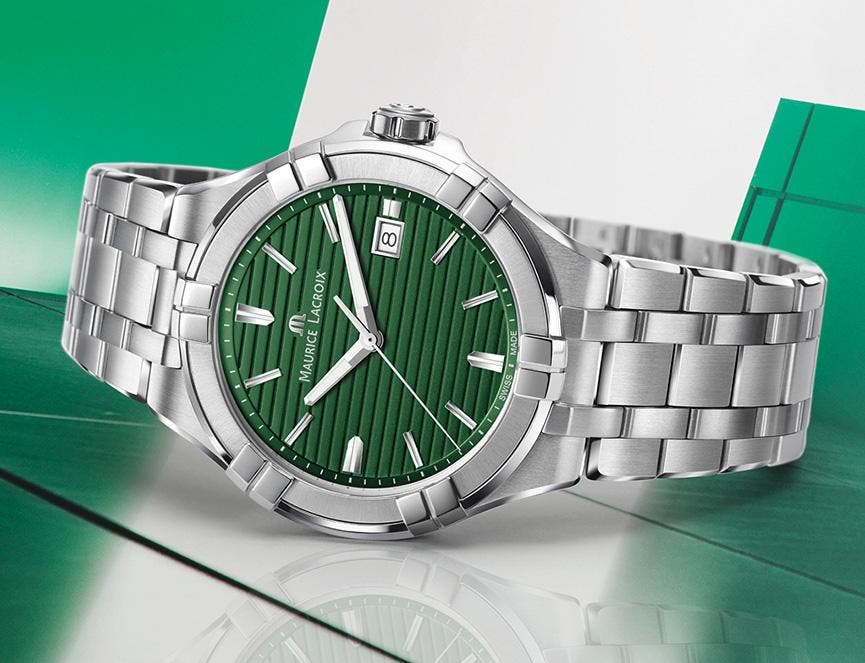 MAURICE LACROIX AIKON CHRISTIAN GREEN EDITION