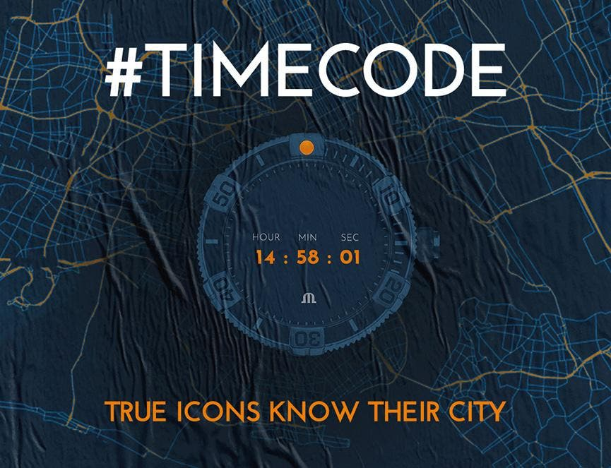 アイコン ベンチュラー 限定モデル & モーリス・ラクロアの新たなグローバルキャンペーン #Timecodeに参加して、 限定モデルを手に入れよう