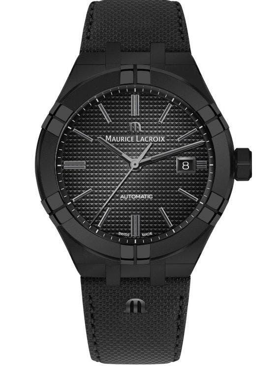 4d427242c3660 AIKON Automatic 42 mm, Men's Watch, Maurice Lacroix Black dial ...