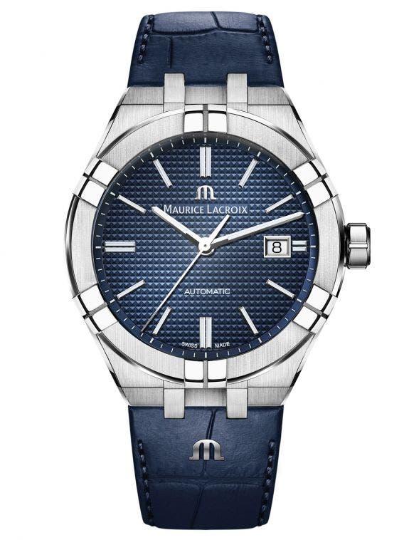 68409e1eb86ee AIKON Automatic Chronograph 42mm, Men's Watch, Maurice Lacroix Black
