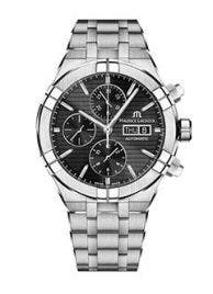 Maurice Lacroix - AIKON Automatic Chronograph 44 мм AI6038-SS002-330-1