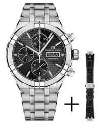 Maurice Lacroix - Strap promotion - AIKON Automatic Chronograph 44 мм AI6038-SS002-330-2