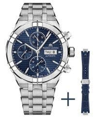 Maurice Lacroix -  Strap promotion - AIKON Automatic Chronograph 44 мм AI6038-SS002-430-2