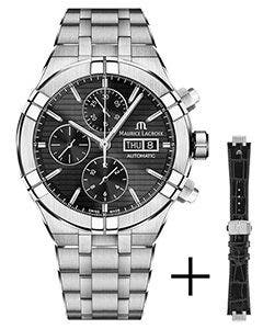 Maurice Lacroix - Gurtpromotion - AIKON Automatic Chronograph 44 мм AI6038-SS002-330-2
