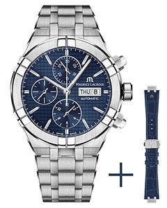 Maurice Lacroix - Gurtpromotion - AIKON Automatic Chronograph 44 мм AI6038-SS002-430-2