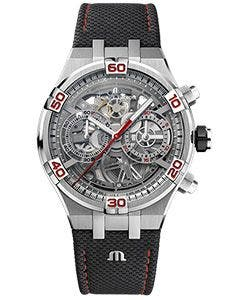 AIKON Automatik Skeletierter Chronograph Special Edition Mahindra Racing
