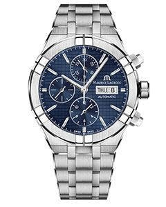 Maurice Lacroix - AIKON Automatic Chronograph 44 мм AI6038-SS002-430-1