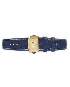 AIKON Blue Leather Strap 42mm