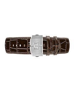 Maurice lacroix - AIKON Brown Calf Leather Strap 42mm ML740-005050