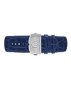AIKON Blue Calf Leather Strap 39mm ML800-005036