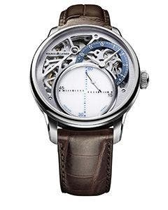 Maurice Lacroix – MASTERPIECE Mysterious Seconds 43 mm MP6558-SS001-094-2