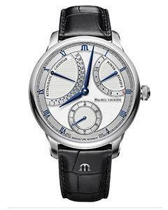 Maurice Lacroix - MASTERPIECE Calendrier Rétrograde 43 mm MP6568-SS001-132-1
