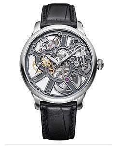 Maurice Lacroix – MASTERPIECE Skeleton 43 mm MP7228-SS001-003-1