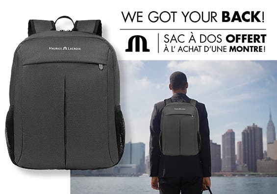 Promotion Maurice Lacroix - Promotion de fin d'année - We got your back!