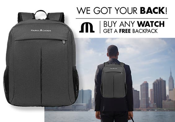 Maurice Lacroix promotion - End of the year promotion - We got your back!