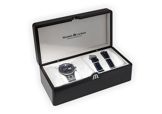 Maurice Lacroix - Promotion de bracelet - AIKON Automatic Chronograph 44 мм AI6038-SS002-330-2