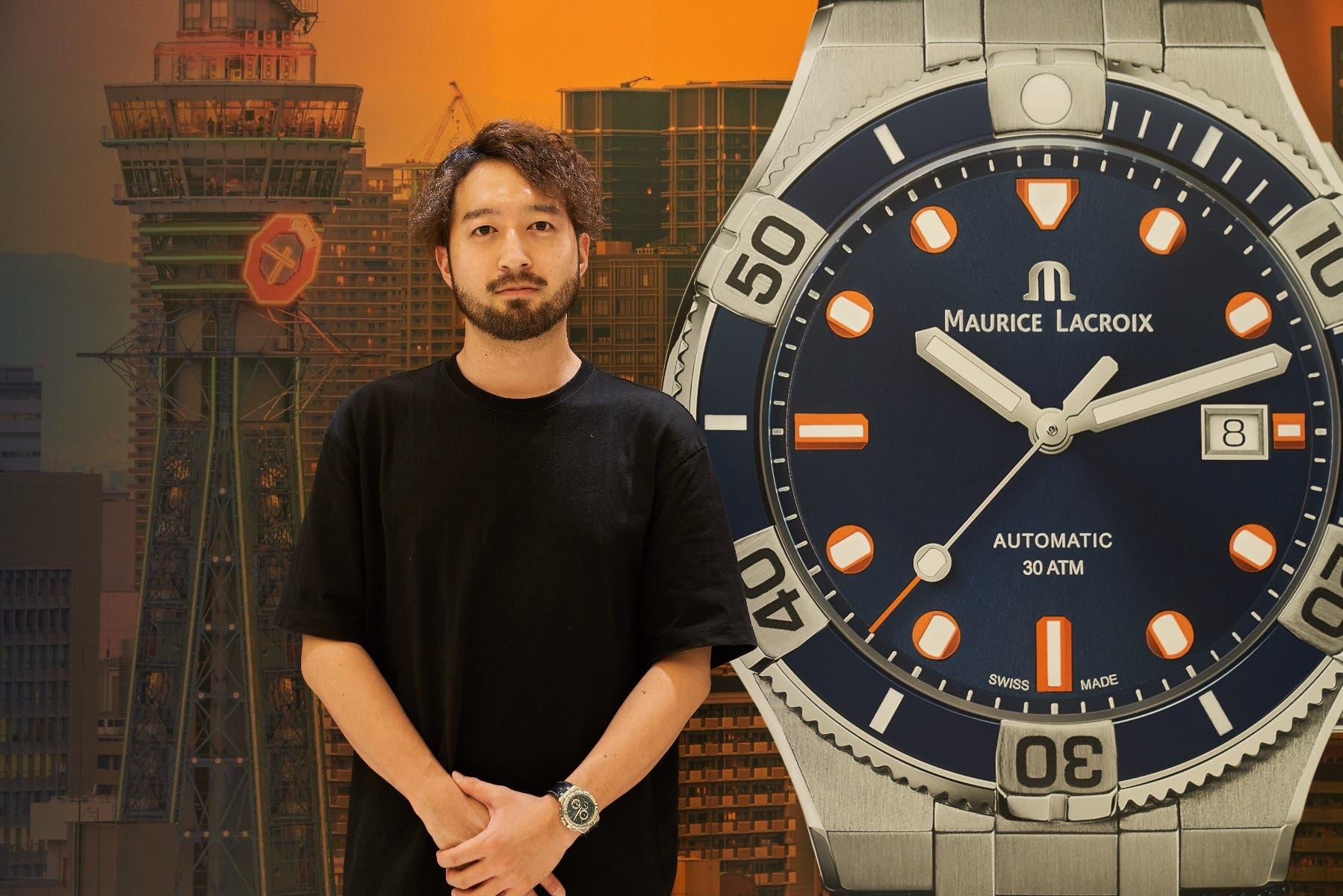 Timecode, Osaka, Maurice Lacroix, aikon venturer, AIKON Venturer 43mm LIMITED EDITION, AI6058-SS002-431-1