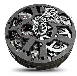 Maurice Lacroix - Mouvements - Masterpiece Chronograph Skeleton