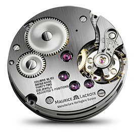 Maurice Lacroix - Movimientos - Masterpiece Regulator Square Wheel